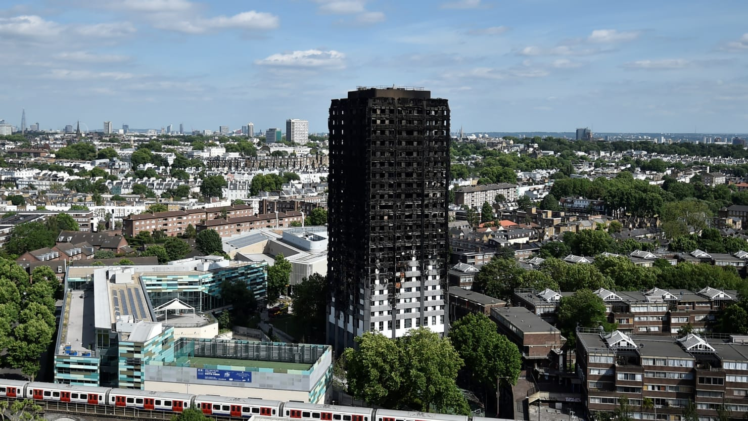 London tower fire