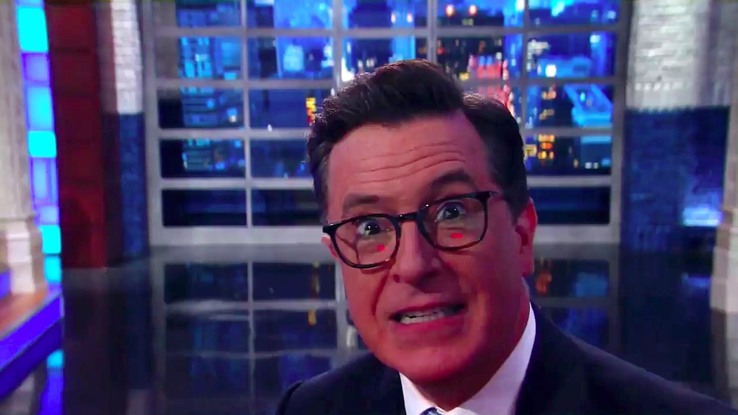Image result for stephen colbert said about North korea