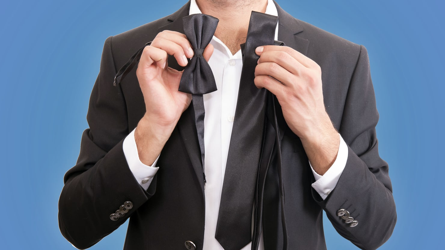 The Necktie May No Longer Be A Required Part Of Business Attire, But Some  Men