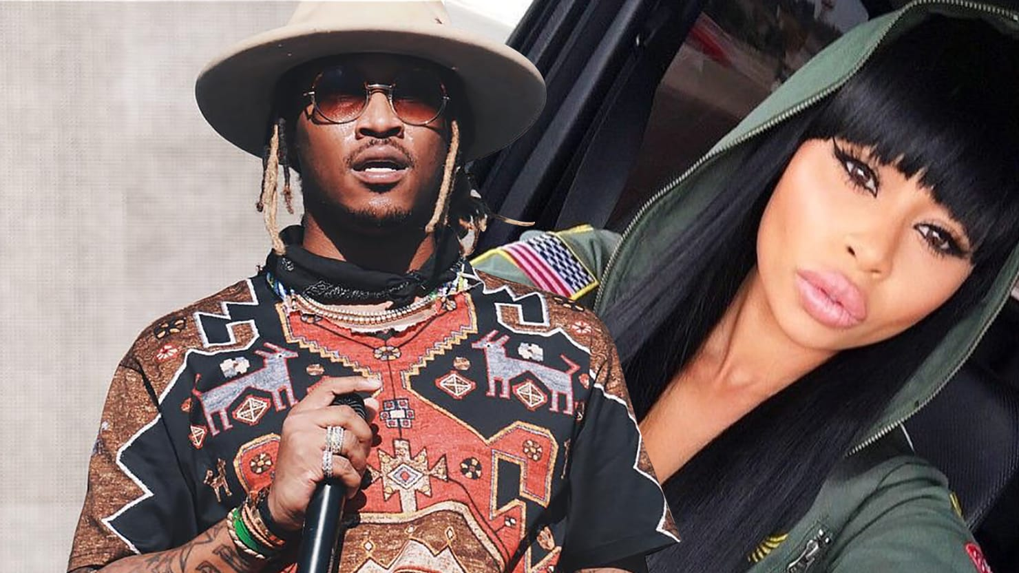 The Strange Case Of Blac Chyna, Who Got Her Alleged Dream Man Future's Name  Tattooed