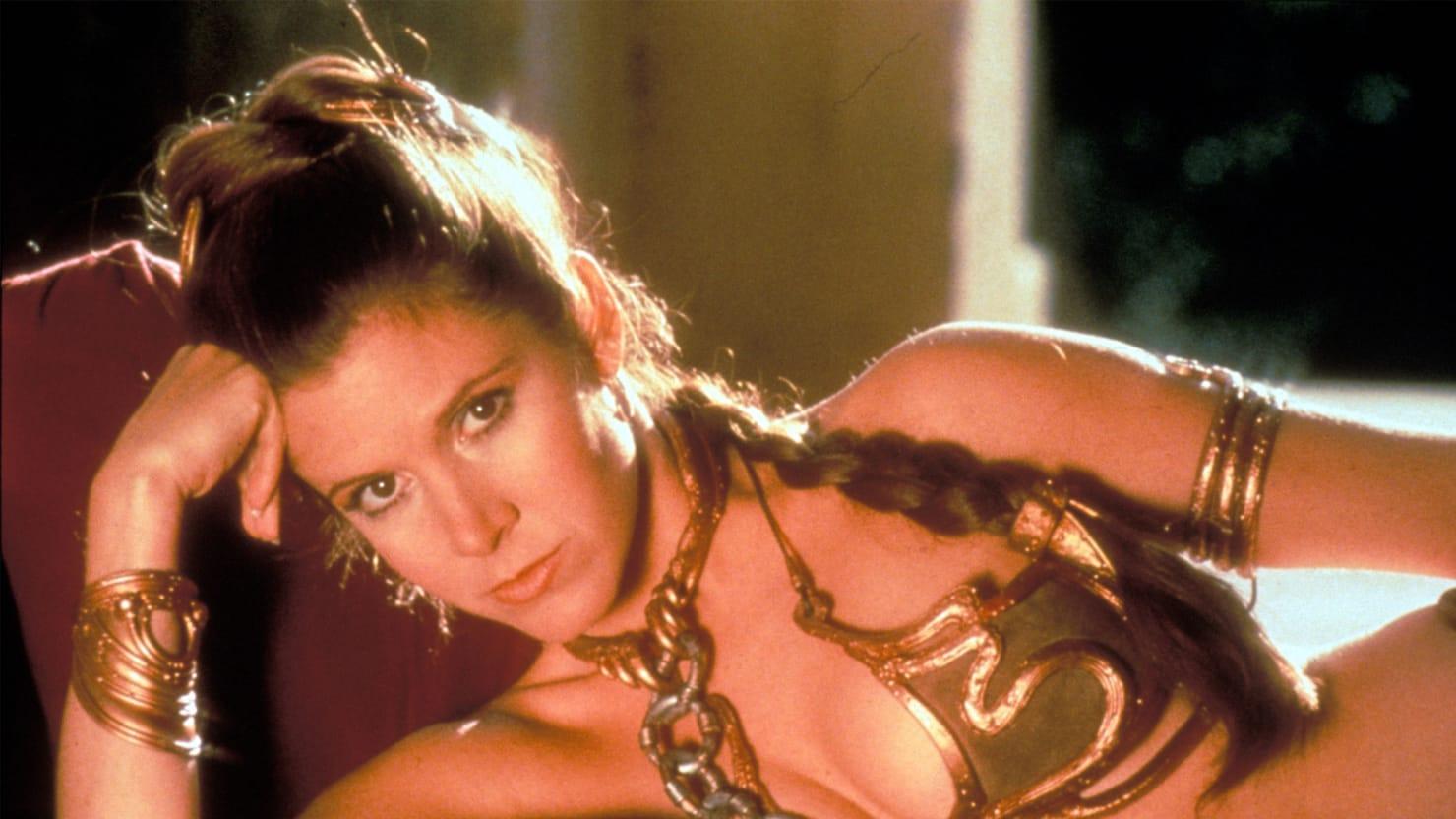 Leia golden bikini