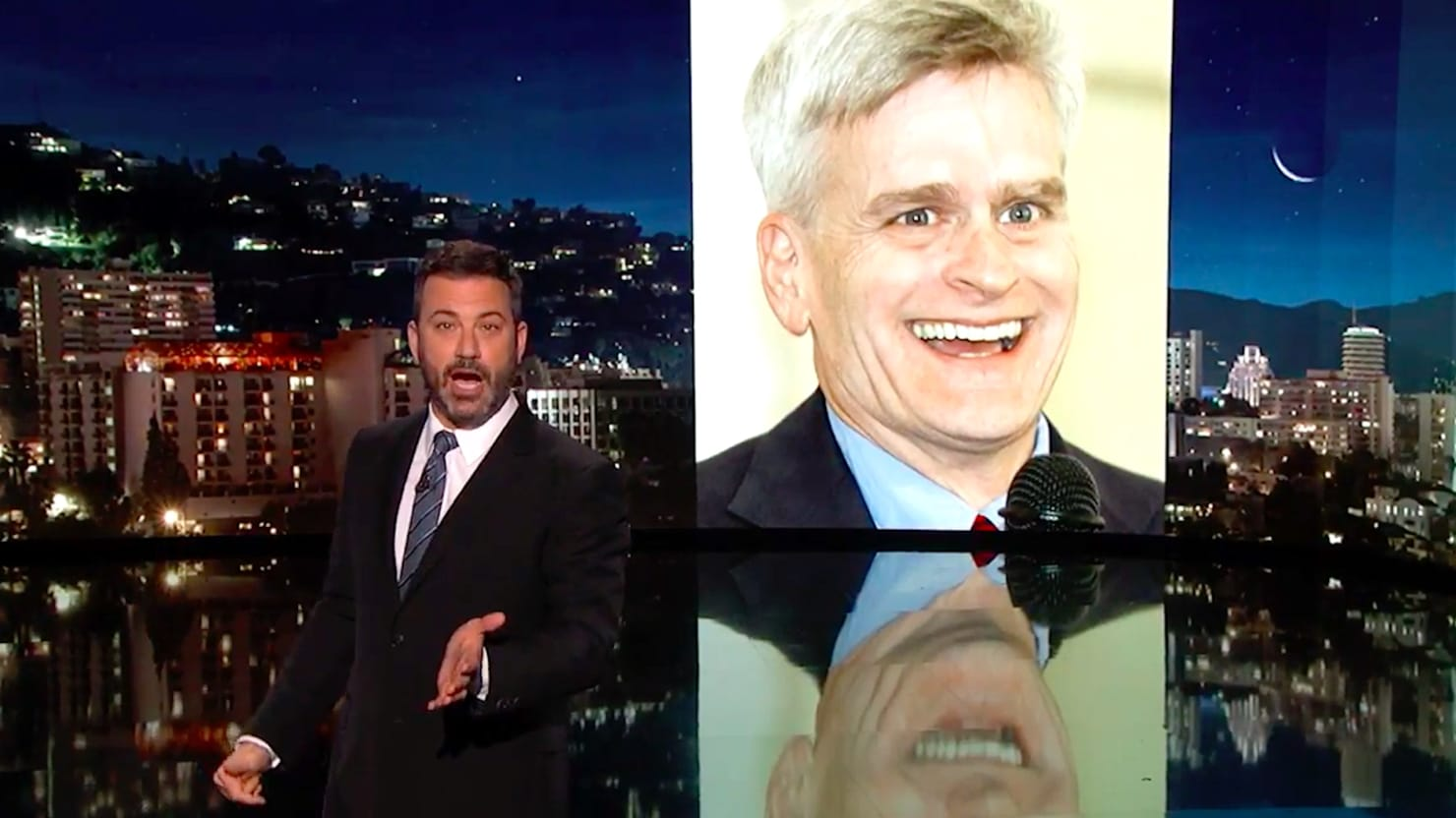 Image result for Sen. Bill Cassidy grinning  face images
