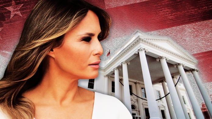 Melania Trump Starts to Fill the Void at White House Left by Ivanka and Jared.