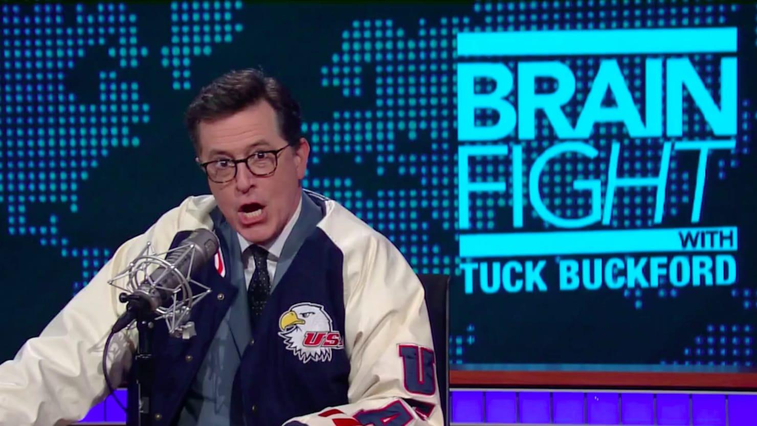 Stephen Colbert Transforms Into InfoWars' Alex Jones: 'My Blood Is on Fire!'