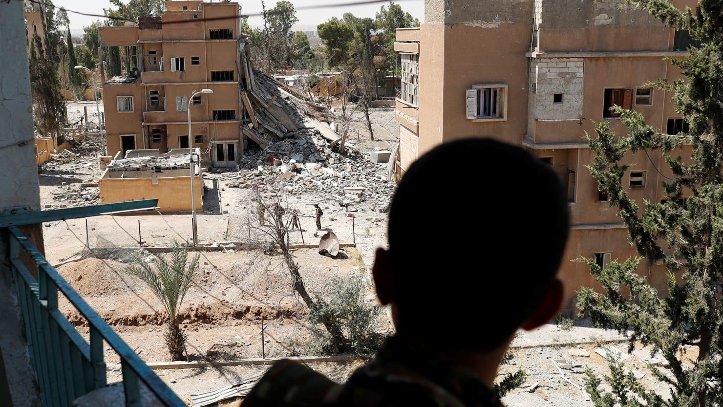 Syria civilian deaths hidden by US