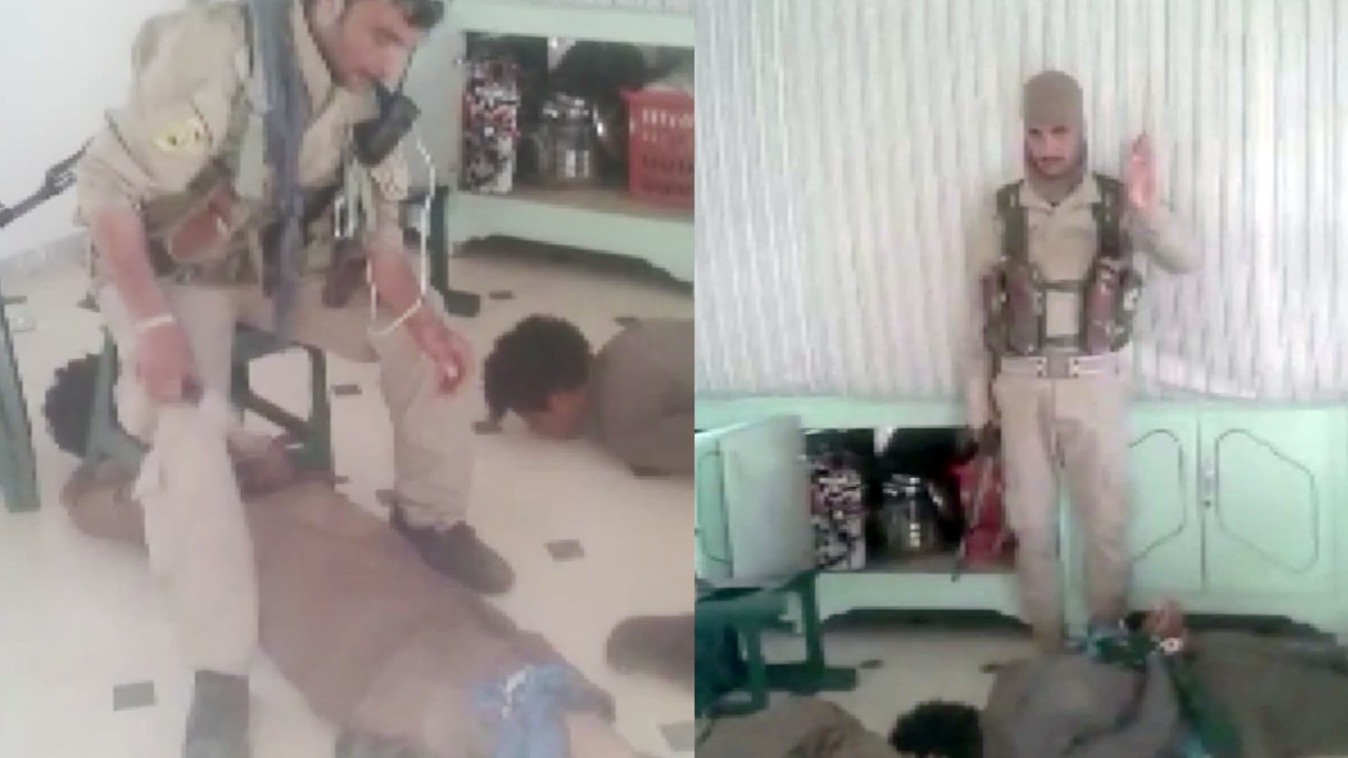 US Allies torture Syrian prisoners in video