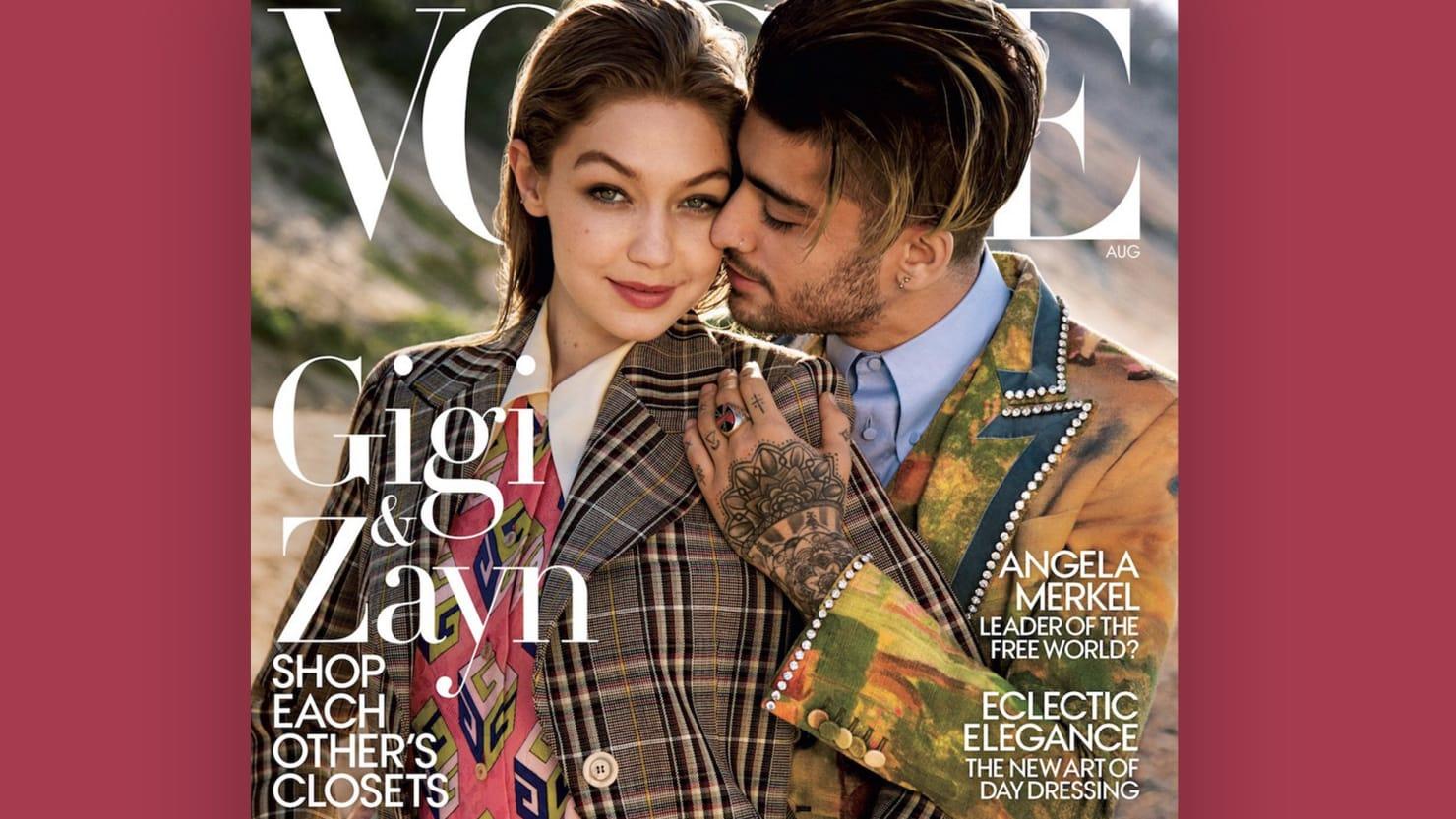 'Vogue' Apologizes for Tone-Deaf Gigi Hadid and Zayn Malik 'Gender Fluidity' Cover