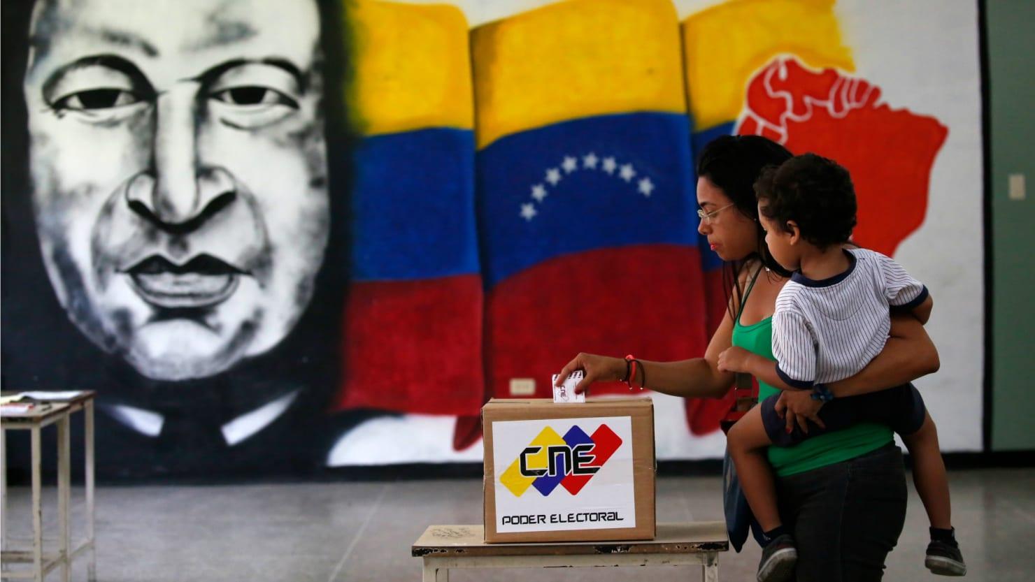 Venezuuelan officals killed as voting begins