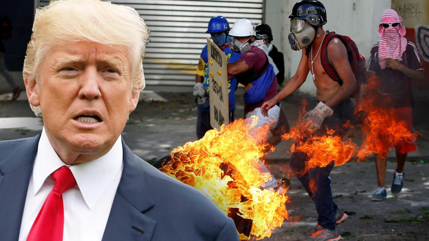 Image result for trump's war against venezuela