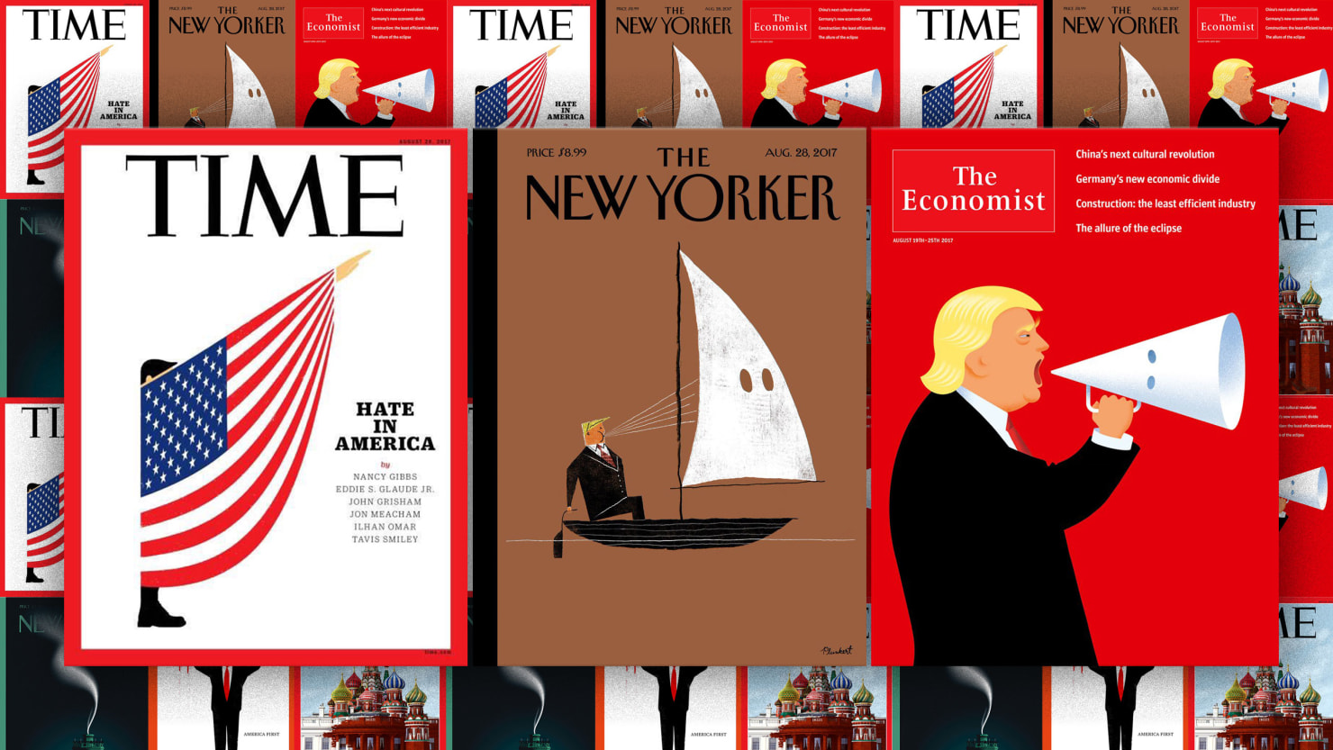 Best magazine covers on trump
