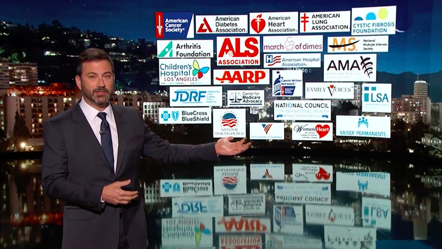 Jimmy Kimmel fires back again