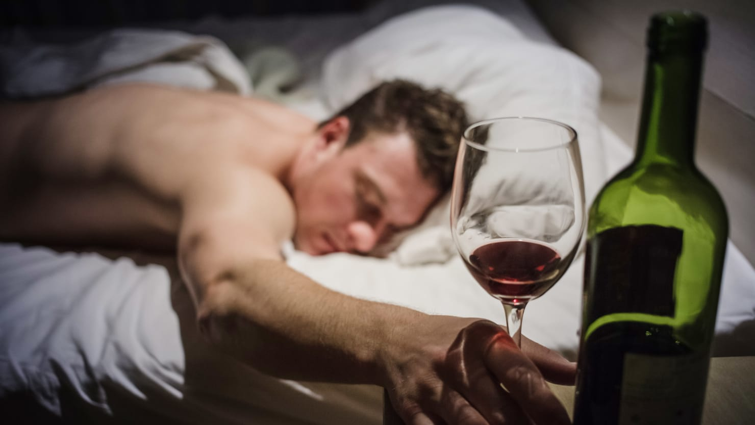 It turns out that drinking wine is actually stimulating for your brain