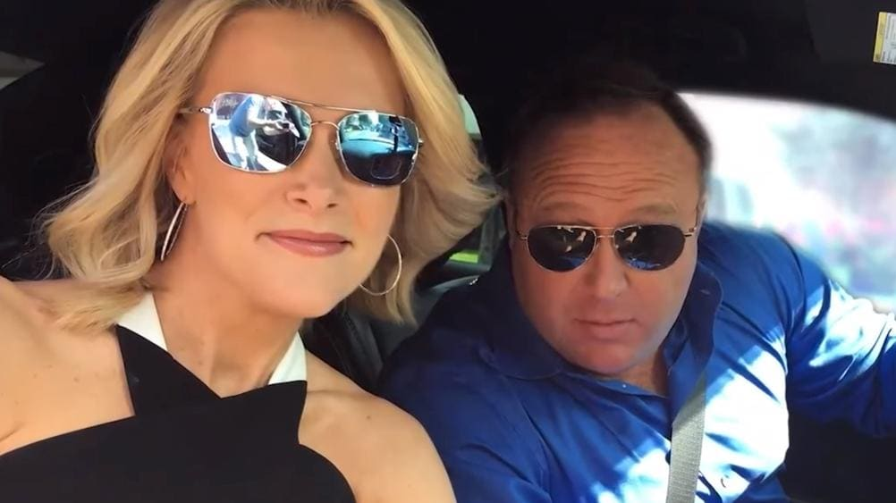 Megyn Kelly exposed by Alex Jones