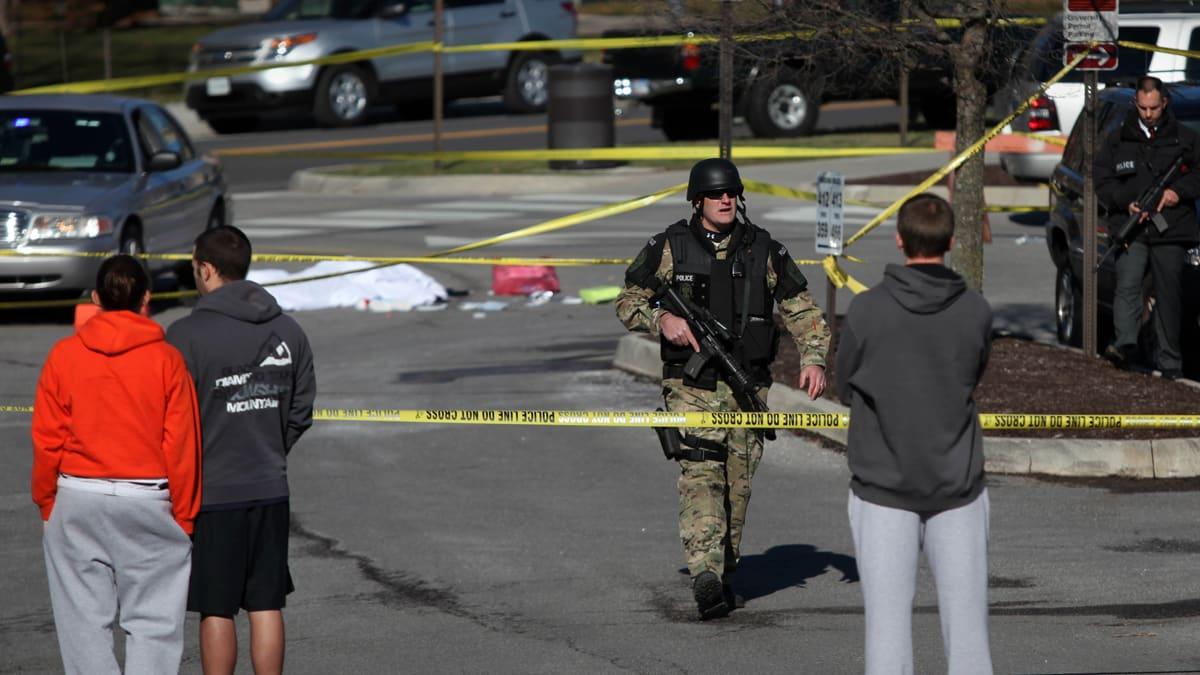Virgina Tech Shooter Killed Police Officer, Himself