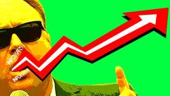 Stocks Jump on 'Post-Truth' InfoWars Video