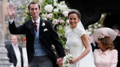 Decked Out in Designer Duds, Pippa Middleton Weds Financier