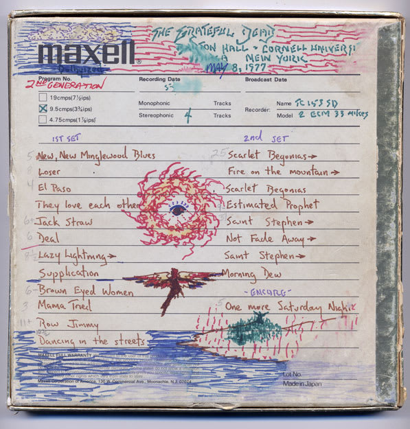 Ithaca, Courtesy of Special Collections & Archives, University of California, Santa Cruz. Grateful Dead Archive.