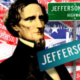 The Jefferson Davis Memorial Highway stretched from Virginia to California in response to the Lincoln HIghway. A century later, it hasn't all been erased.