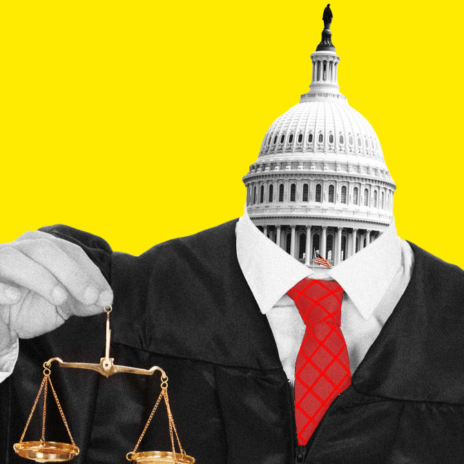 While You Weren't Looking the Senate Has Been Rubber Stamping Trump's Extreme Judicial Picks
