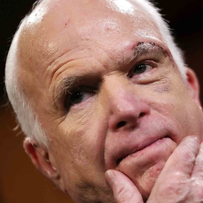 Senator John McCain Just Effectively Killed the Republican Party's Latest Health Care Bill