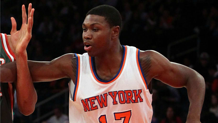 At Strip Knicks Player Club RobbedShot DHW2IE9