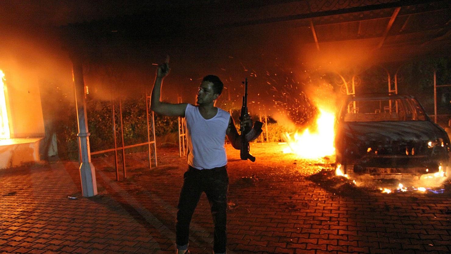 Striking Photos of the Libya Attack Ambassador Chris Stevens More