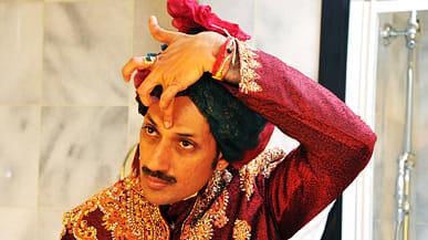 Manvendra singh gohil wedding hairstyles
