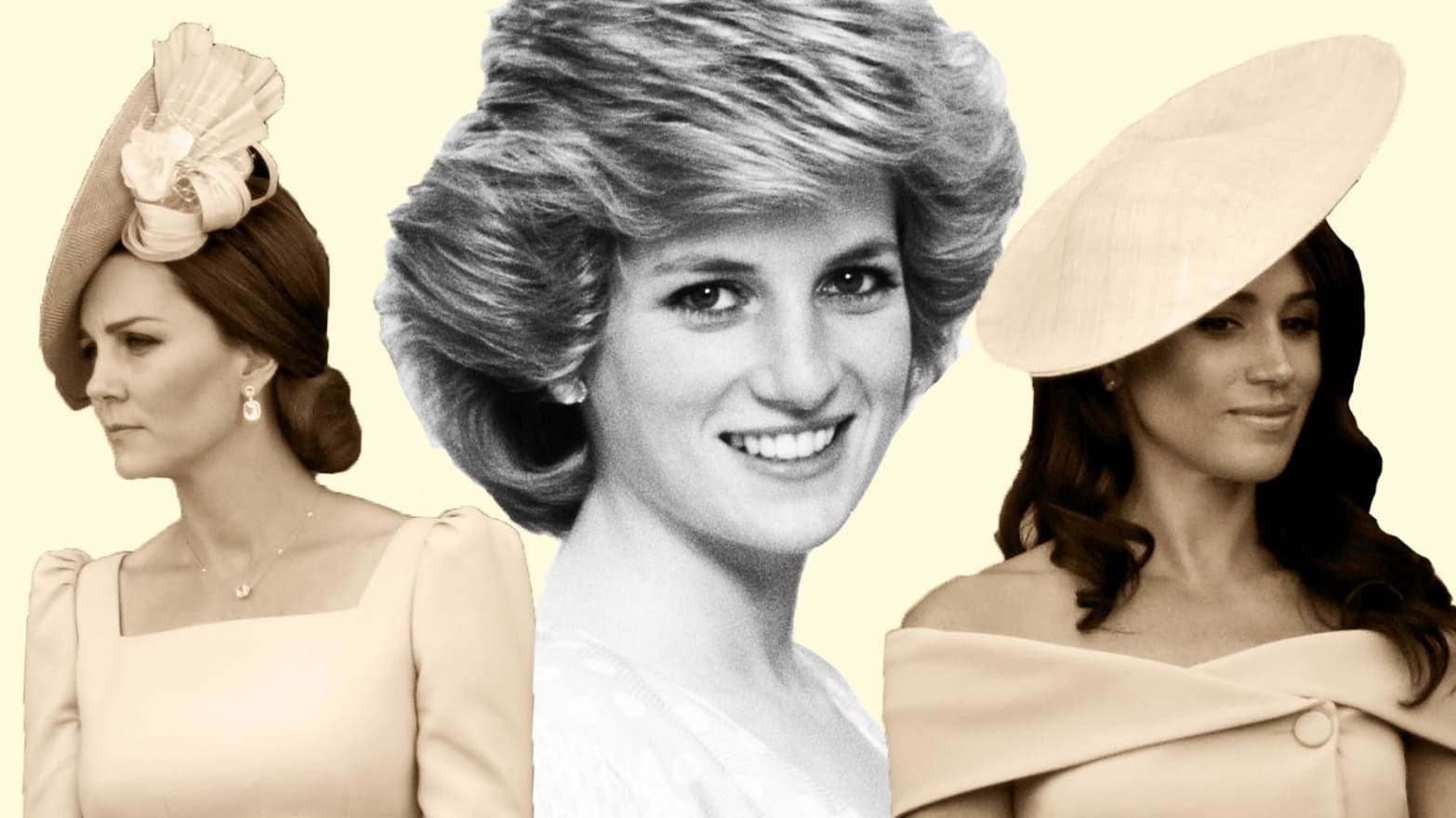Princess Diana Ghost At Prince William S Wedding.How Meghan And Kate Are Taking Different Lessons From Princess Diana