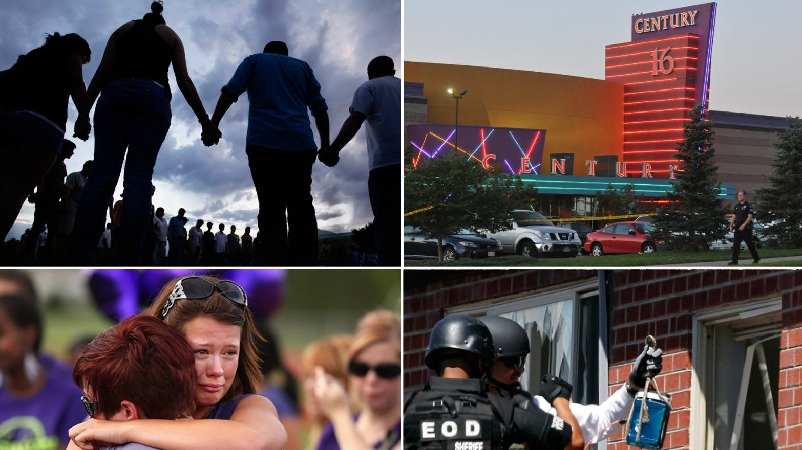 Scenes From the Aftermath of Colorado's 'Batman' Shootings