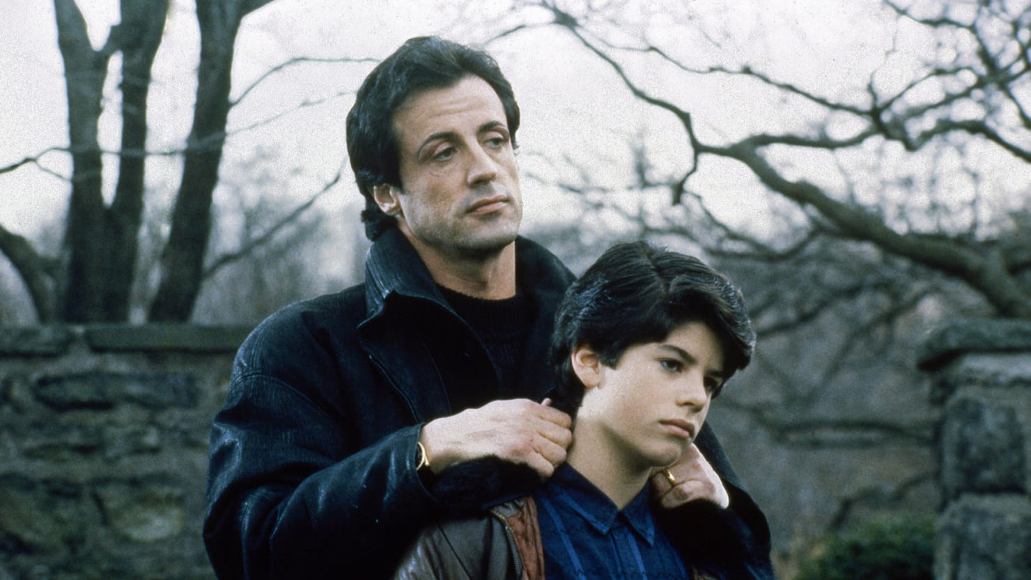 Seargeoh stallone and sylvester stallone