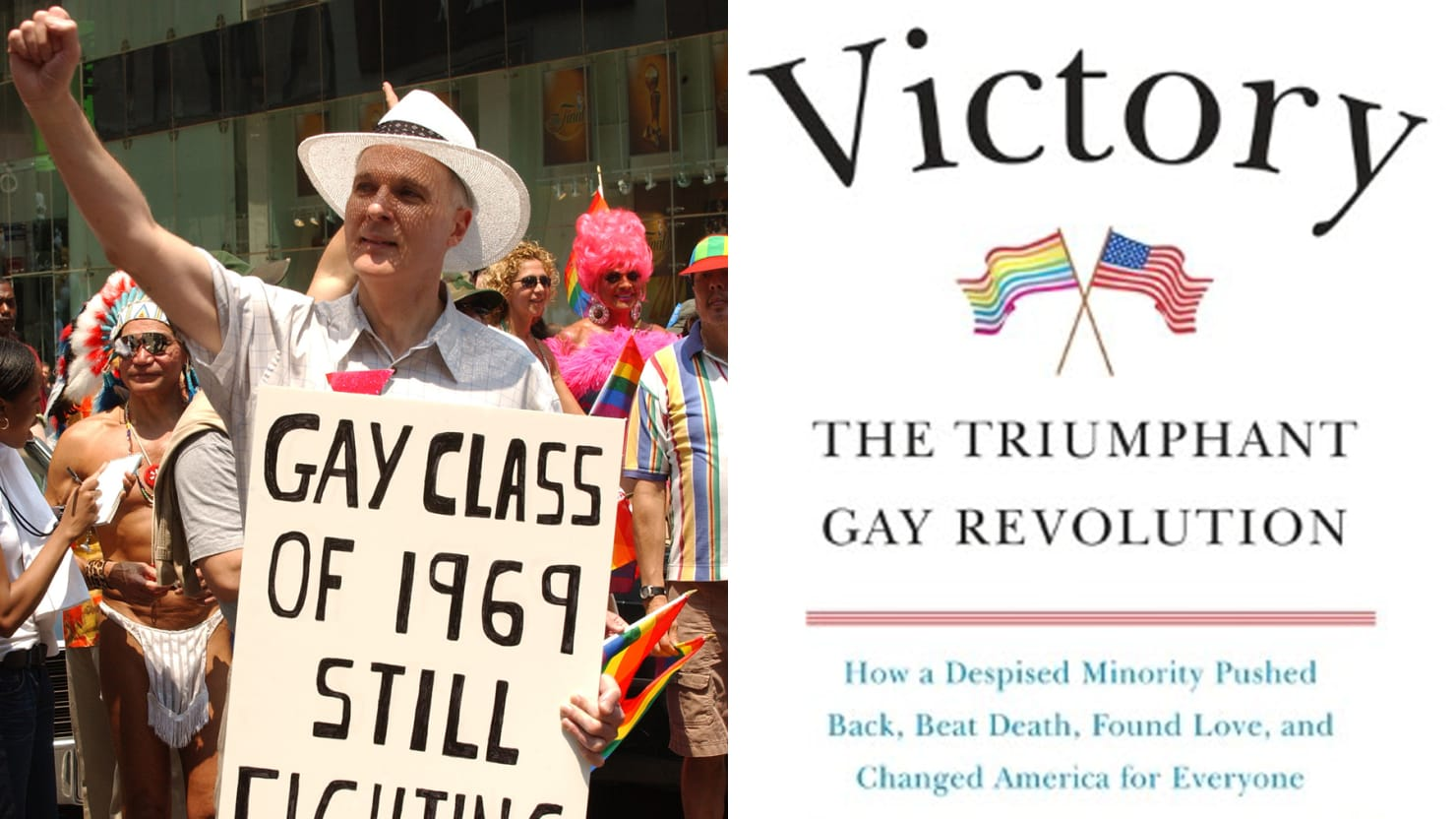 A monumental victory for the gay rights movement