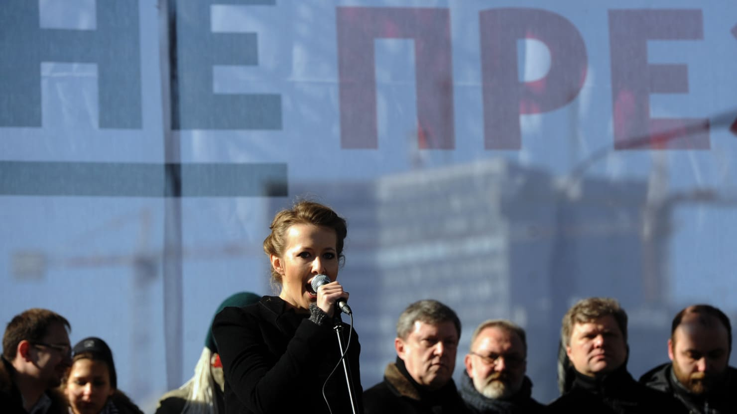 Volochkova accused the United Russia party of homophobia 03.03.2011 97
