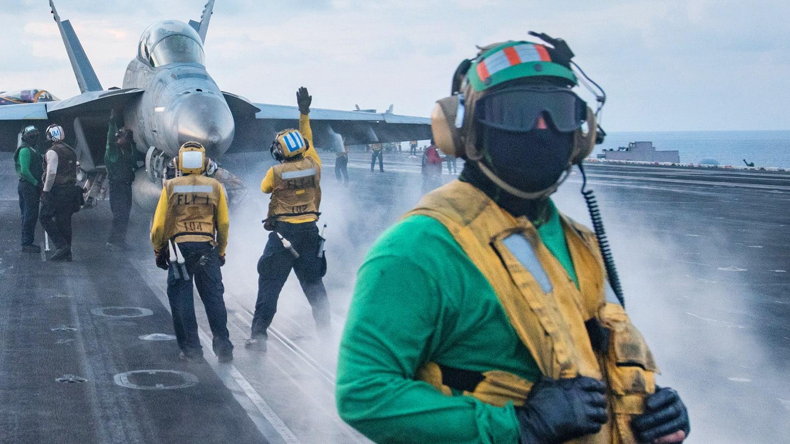 Photo by Mass Communication Specialist 3rd Class Matt Brown/U.S. Navy via Getty Images