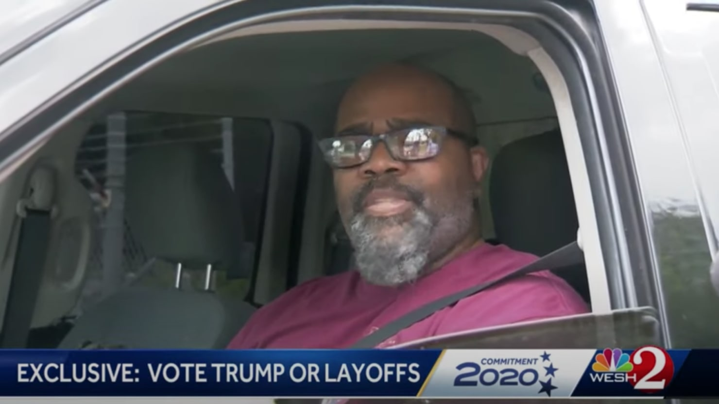 Florida Man Fired After Speaking Up About Boss Threatening Layoffs if Biden Wins thumbnail