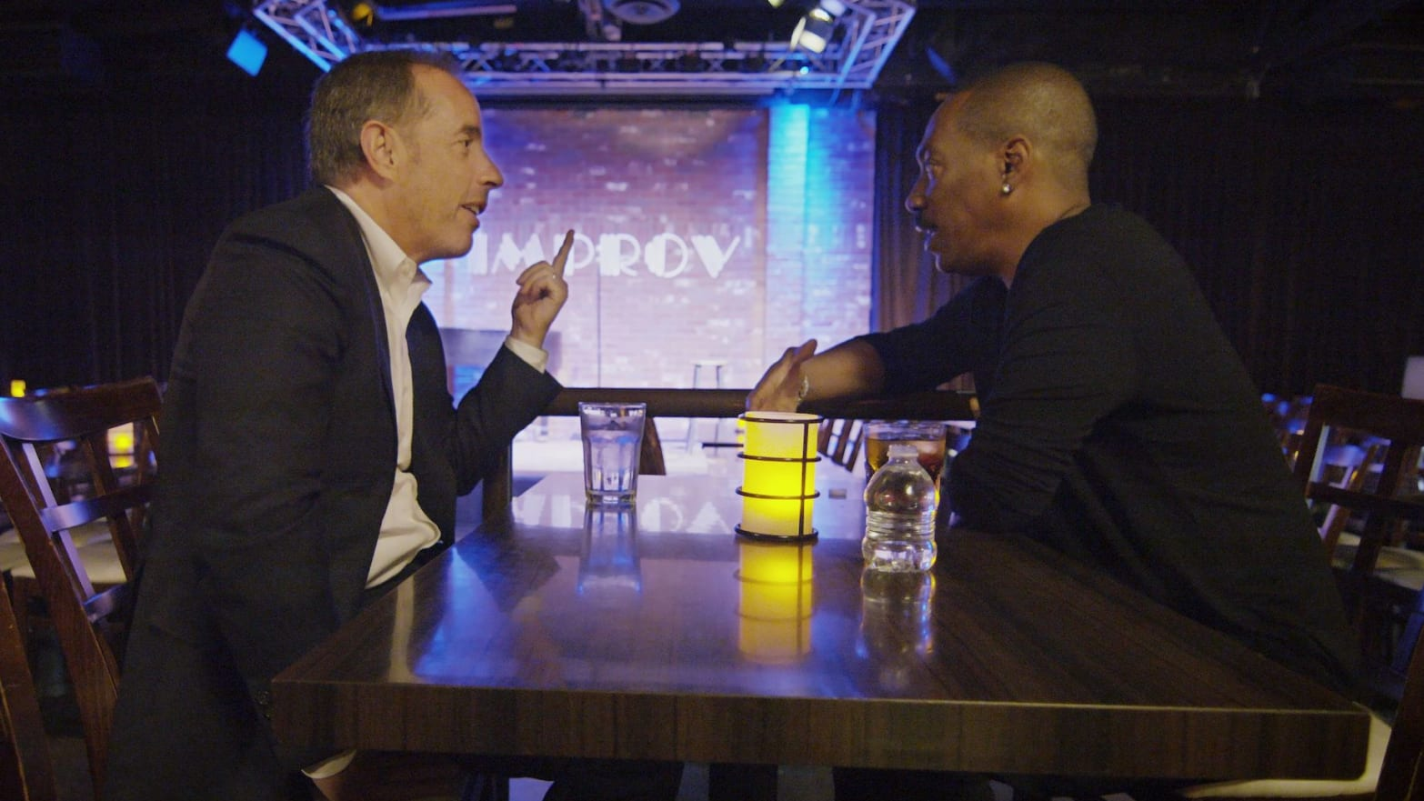 Eddie Murphy Opens Up to Jerry Seinfeld About His Lifelong