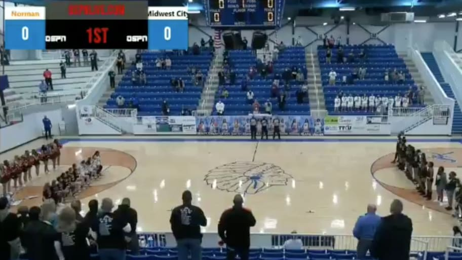 High School Girls Basketball Announcer Caught On Hot Mic Calling Players 'F—ing N—ers' for Kneeling During National Anthem