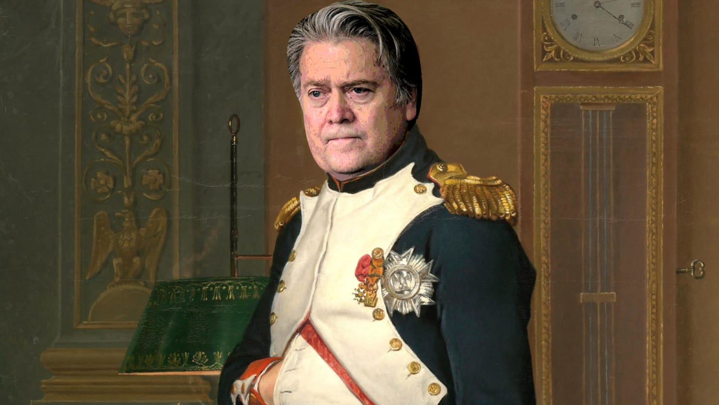 Yes, Steve Bannon Has a Painting of Himself as Napoleon ...