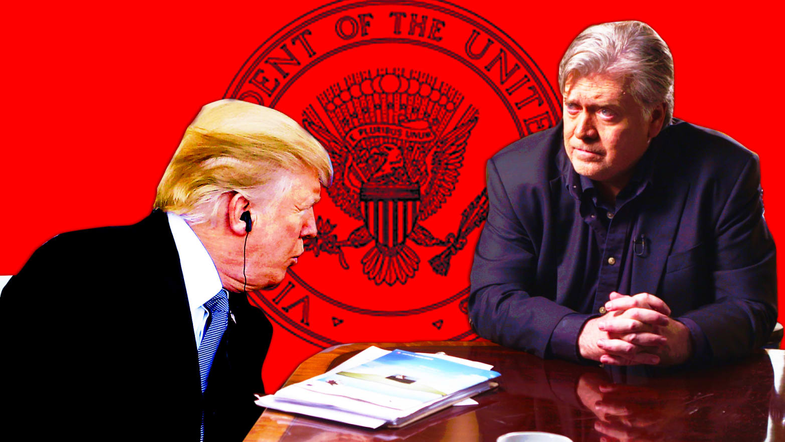 Bannon Maybe Doesn't Mind Helping Trump—but That's Not His Real Goal