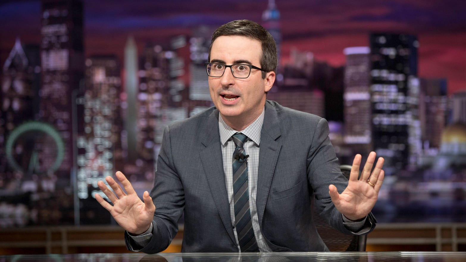 John Oliver Goes Off on Fox News for Pushing 'False Flag' Mail Bomber Conspiracy Theories
