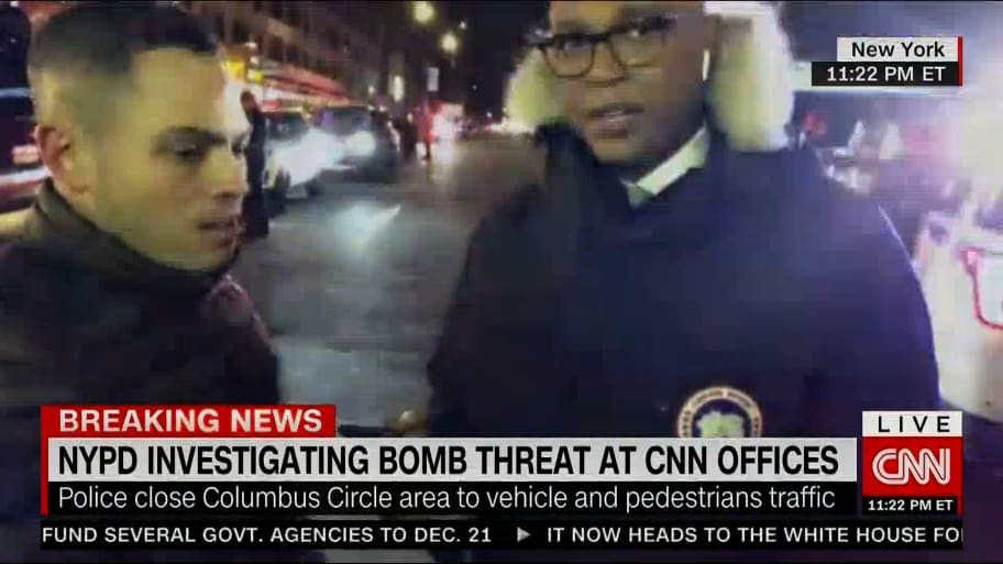 edcf7dad6 Updated 12.07.18 5:44AM ET / Published 12.06.18 11:35PM ET. A bomb threat  at CNN headquarters ...