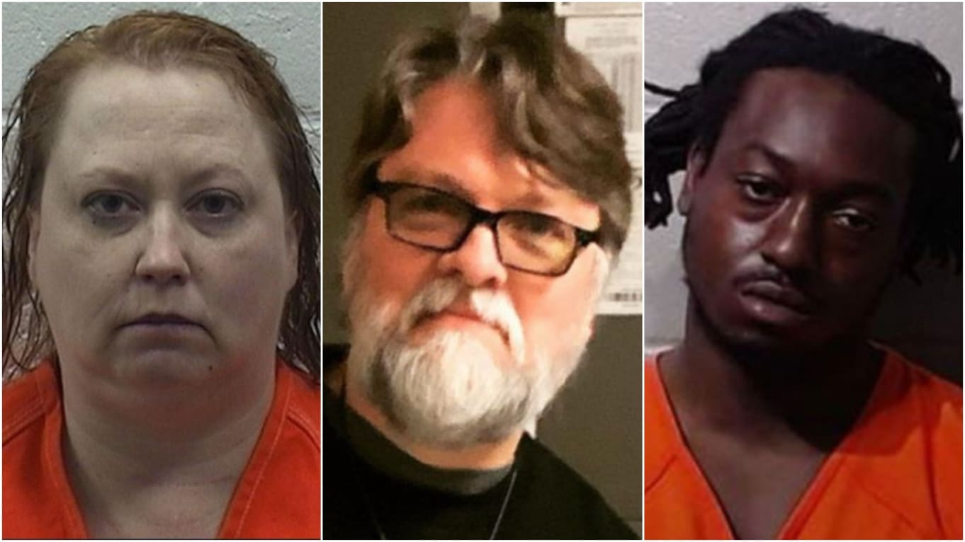 Midnight Execution of Oklahoma Pastor David Charles Evans Unravels Secret Threesome Love Affair, Police Reveal; Wife and Lover Charged with First-Degree Murder
