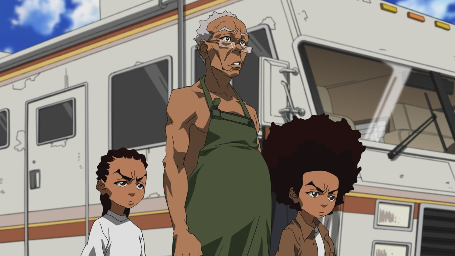 Remarkable, rather Boondocks and adult swim opinion