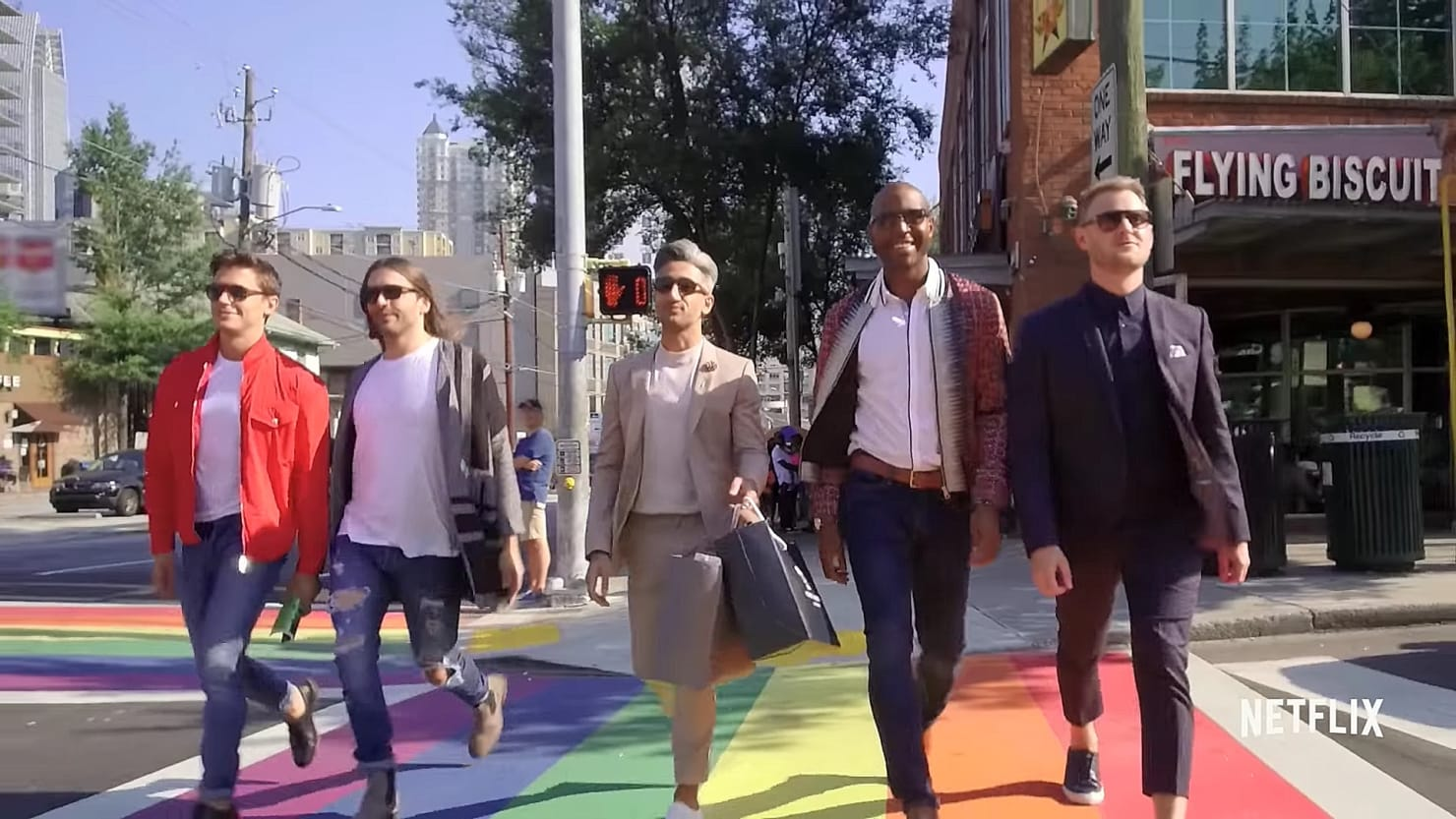 Image result for queer eye for the straight guy Netflix