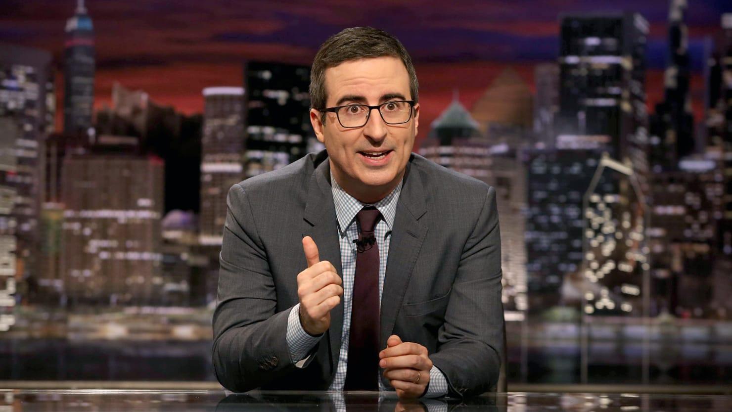 John Oliver Goes Off on 'Racist' Fox News Host Laura Ingraham Over Anti-Immigrant Rant