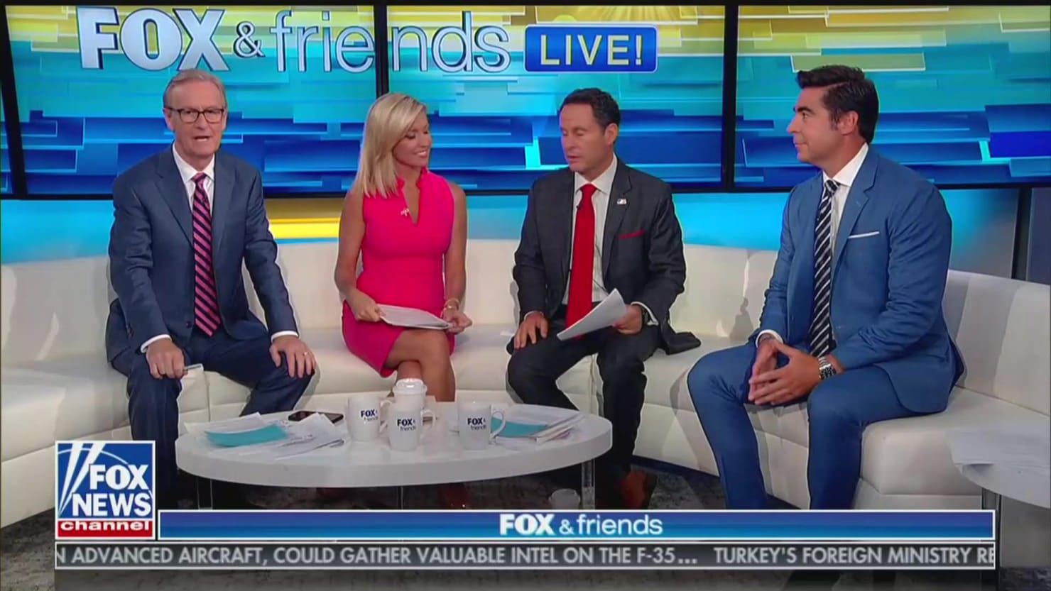 'Fox & Friends' Defends 'Send Her Back' Chant: It's Just Like a Football Game Chant