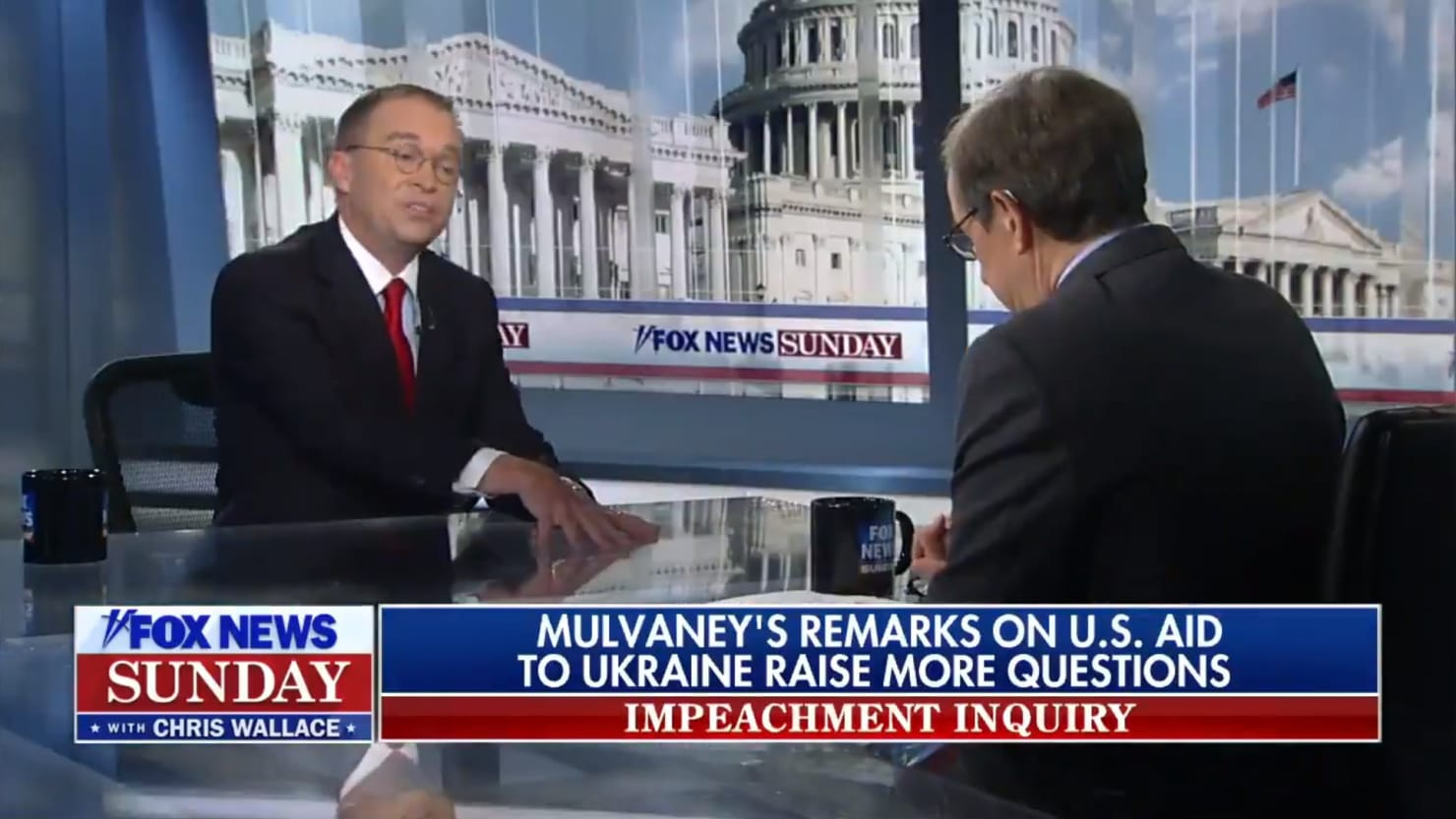 thedailybeast.com - Justin Baragona - Mick Mulvaney Melts Down Under Brutal Grilling By Fox's Chris Wallace