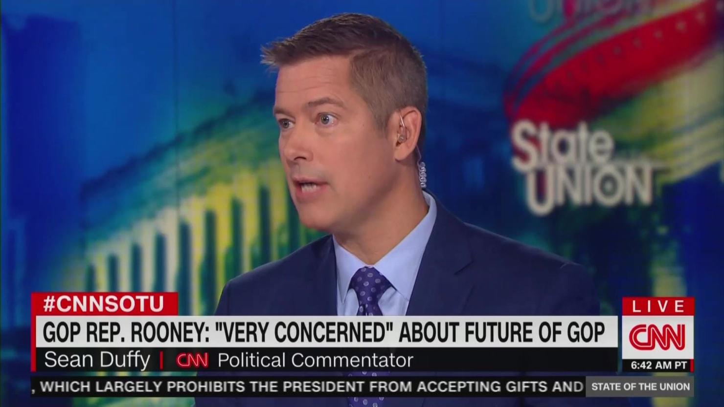 thedailybeast.com - Justin Baragona - CNN Hires Former GOP Congressman and Trump Loyalist Sean Duffy as Political Commentator