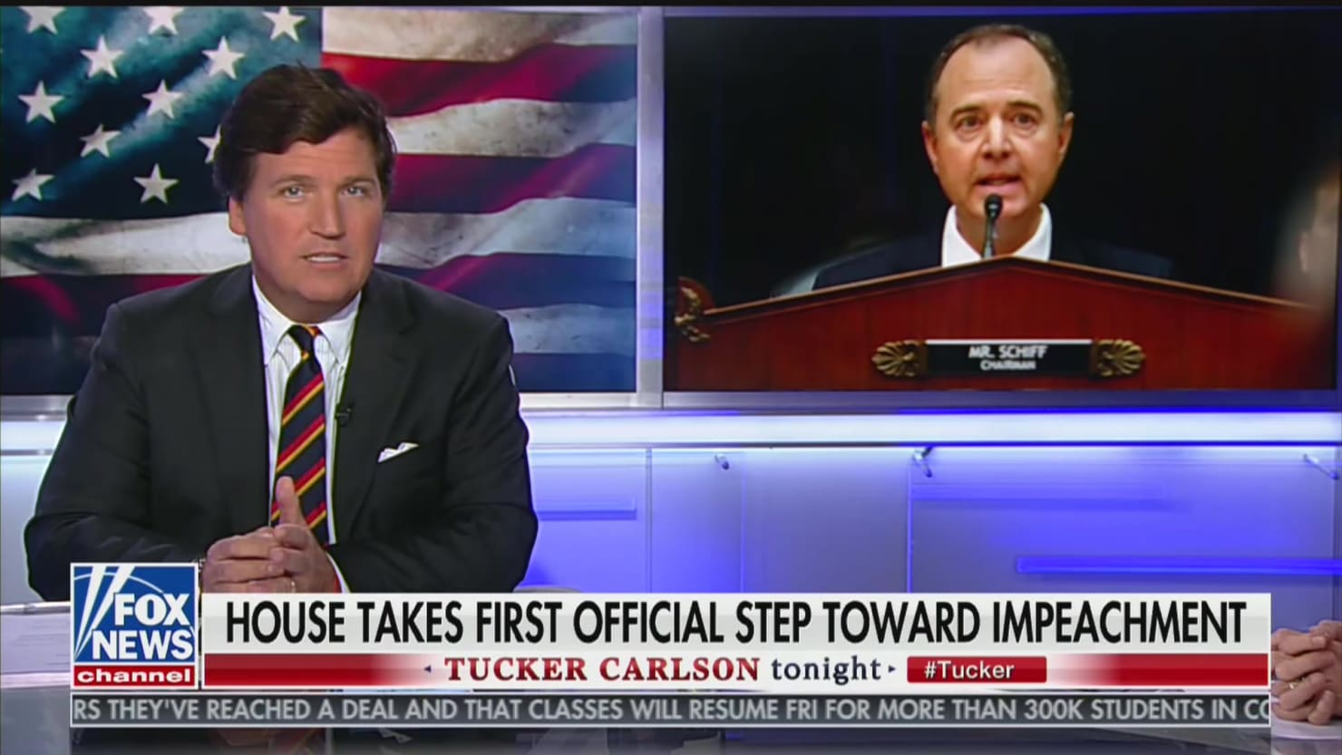 Tucker Carlson Gets Really Strange: Schiff Wrote 'Steamy' Impeachment Letters 'With His Own Body Fluids'