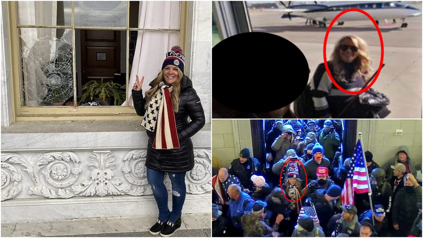 Texas Real Estate Agent Who Took Private Jet to Capitol Riot Is Arrested