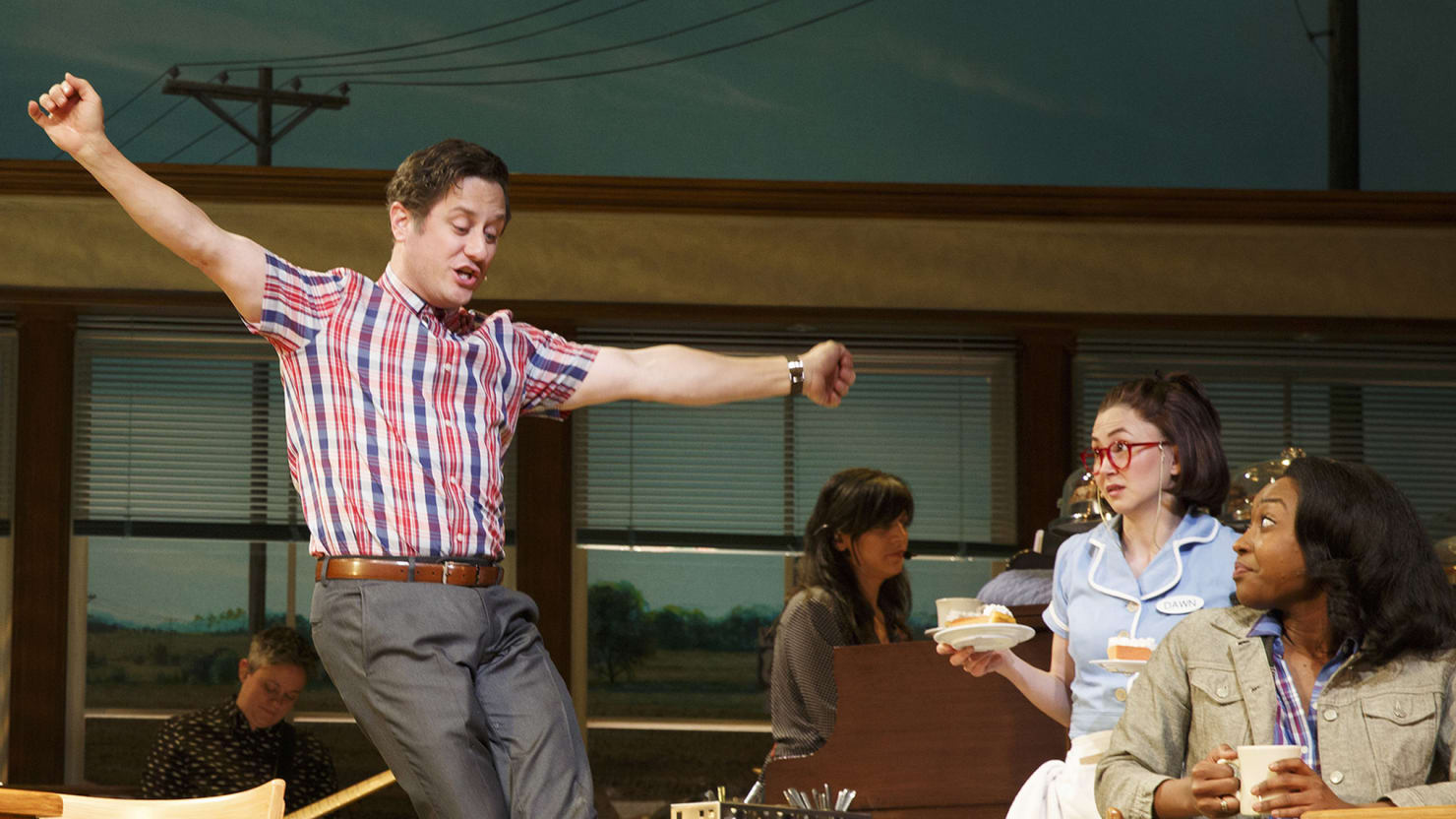 Tony Nominee Christopher Fitzgerald: The Anatomy of Broadway's